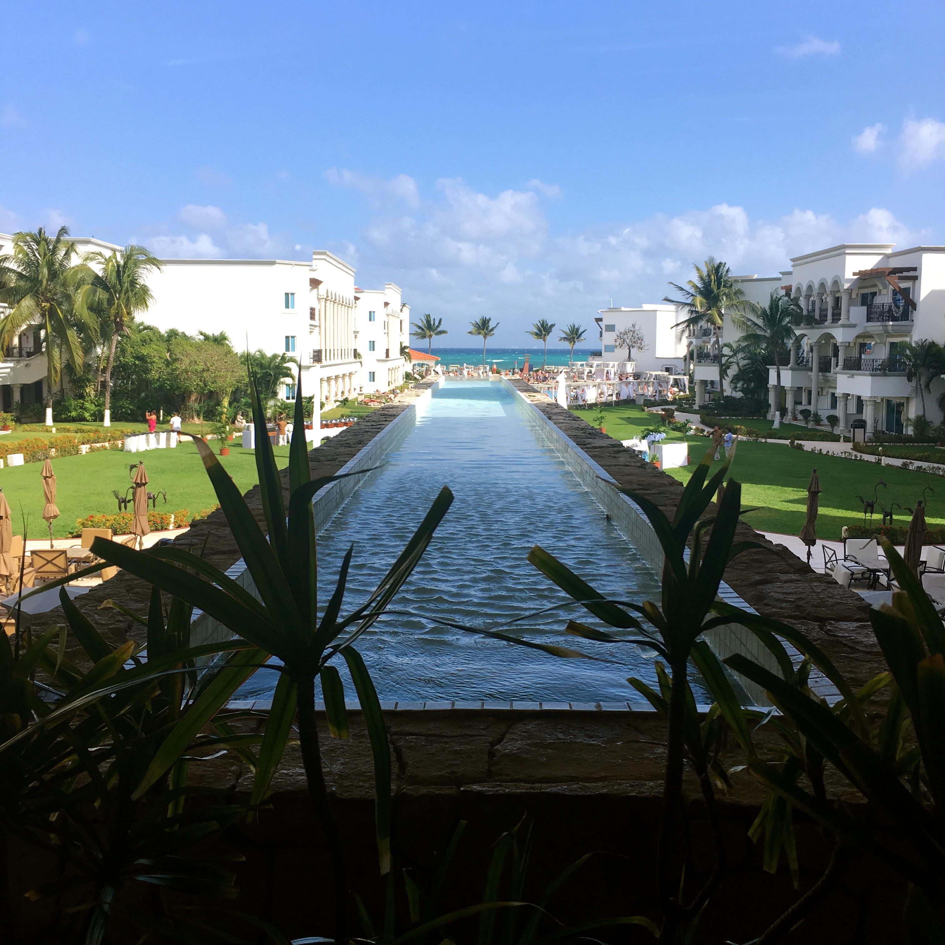 the royal playa del carmen lobby