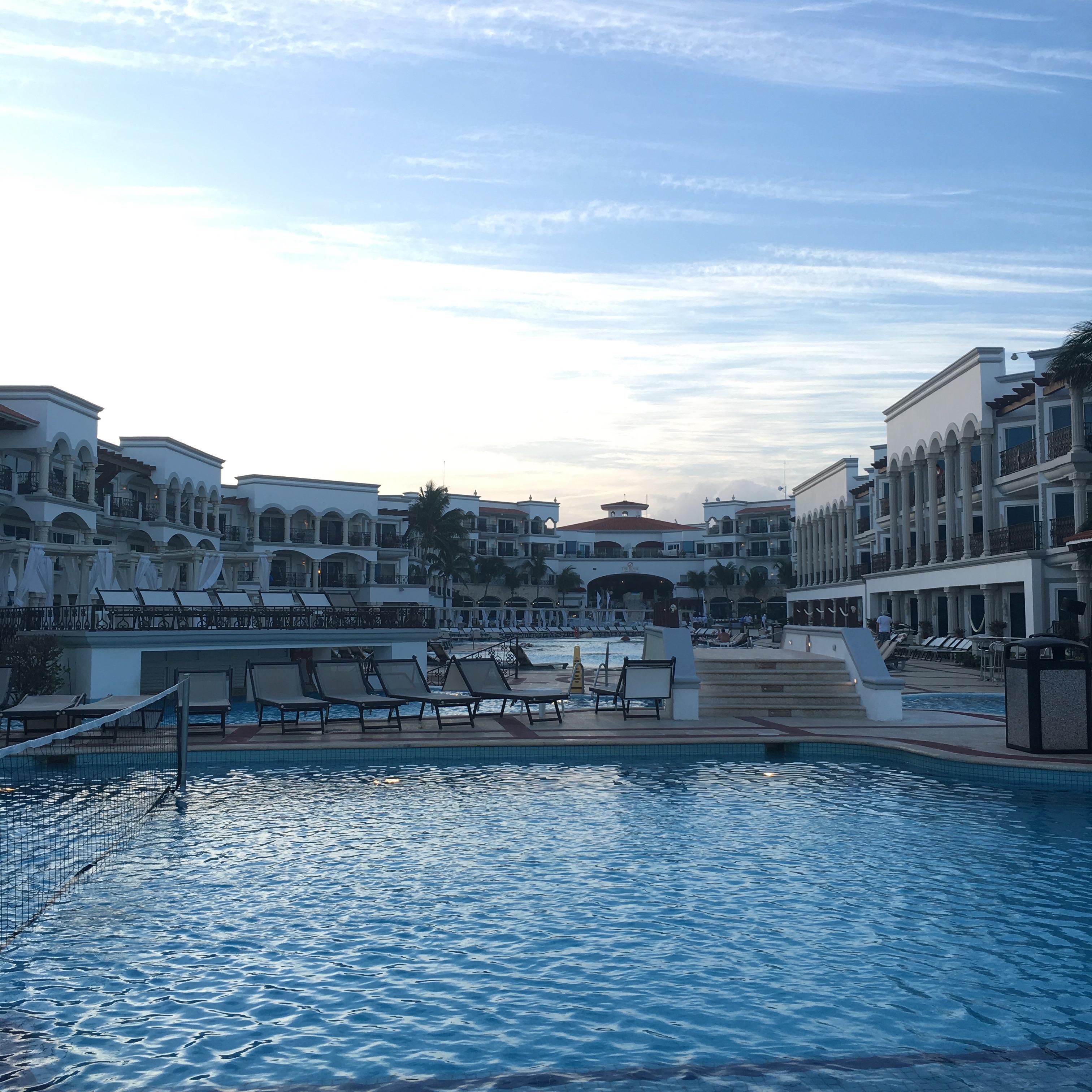 the royal playa del carmen pool 1