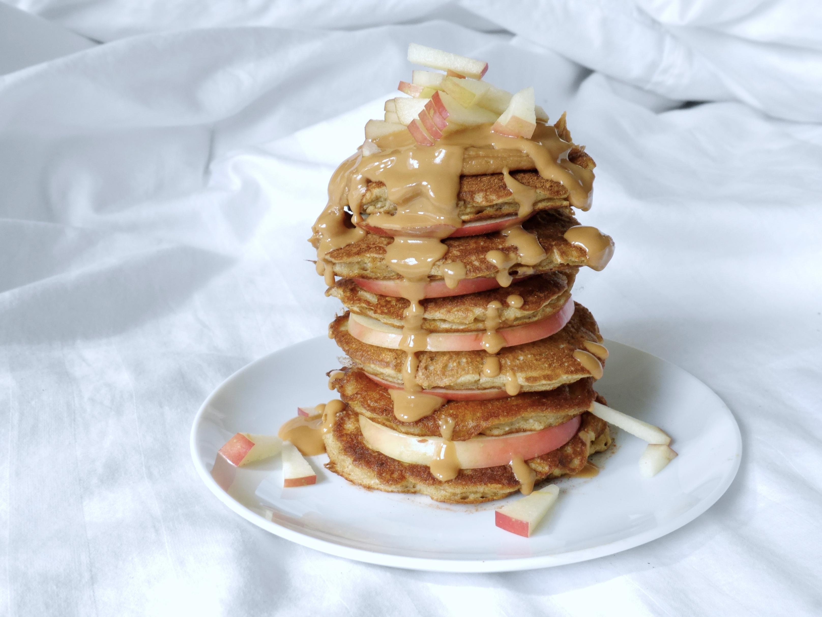 healthy oatmeal pancakes 5