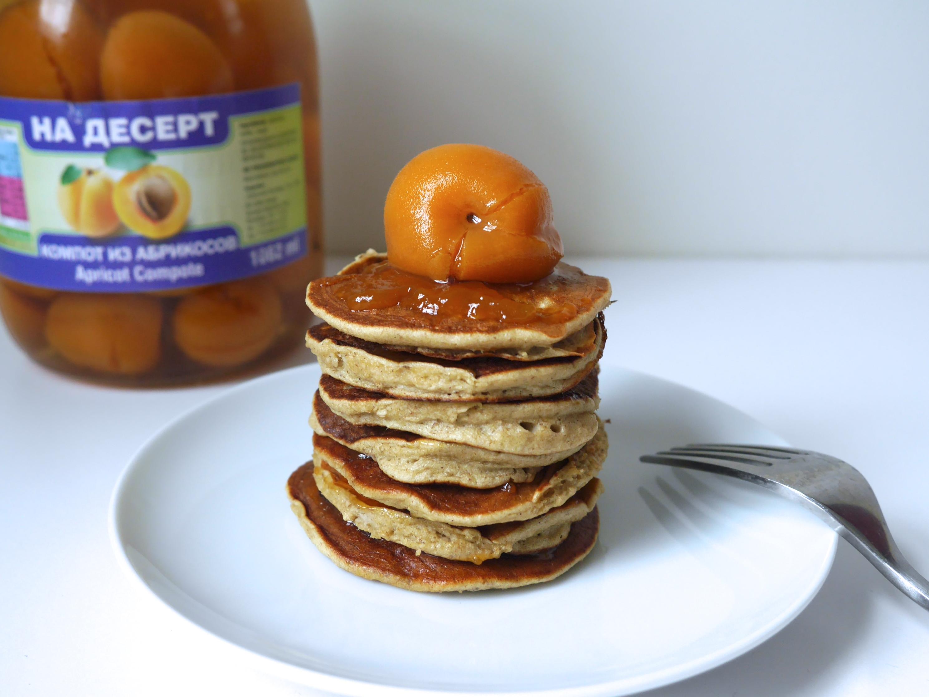 healthy oatmeal pancakes 3